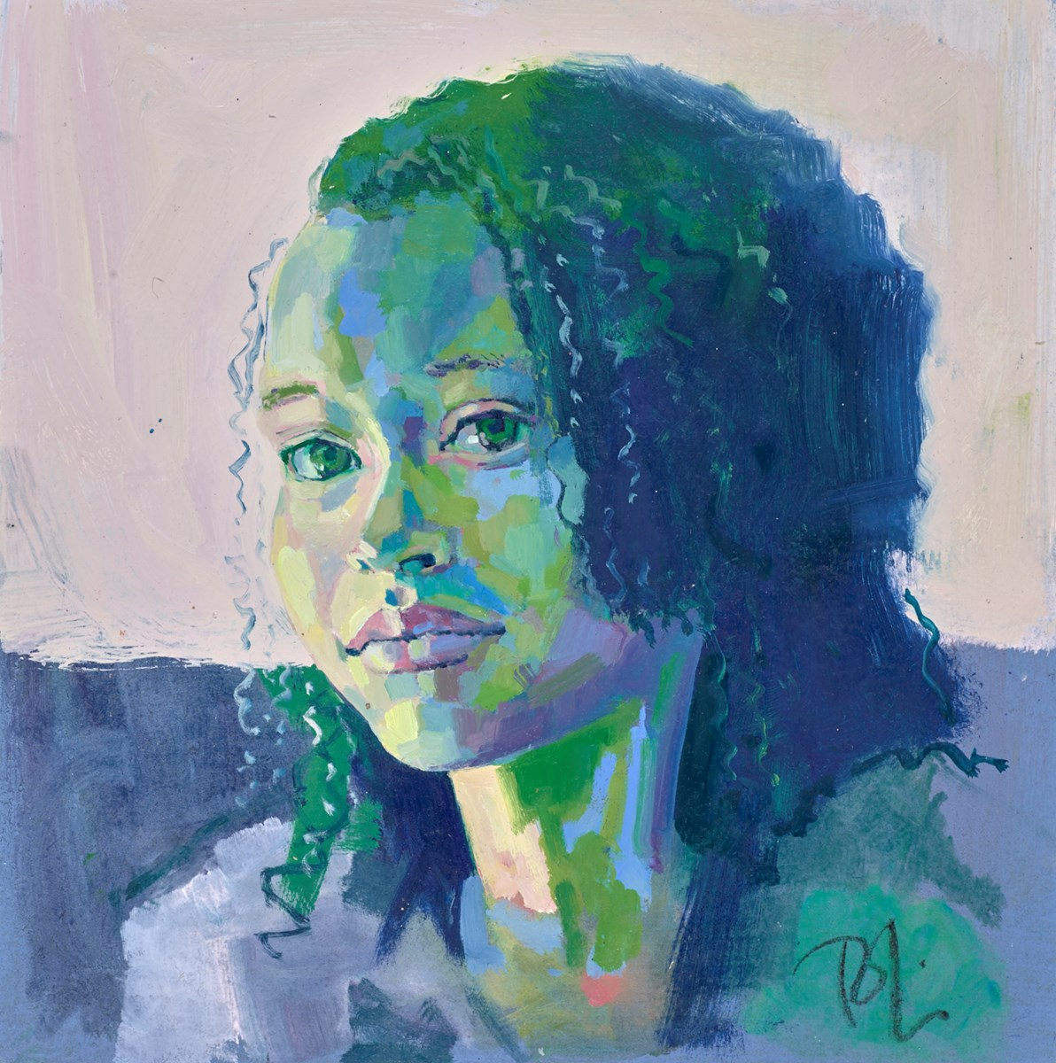 Study for Anais by toby mulligan -  sized 14x14 inches. Available from Whitewall Galleries